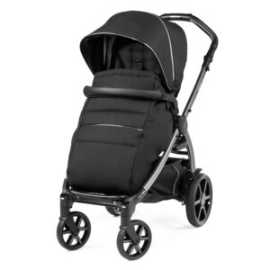 Βρεφικό καρότσι Peg Perego New Book Black Shine